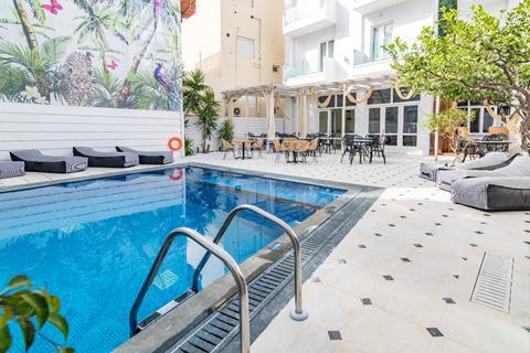 Goedkope zonvakantie Kreta - Hotel Vasia Boulevard Boutique
