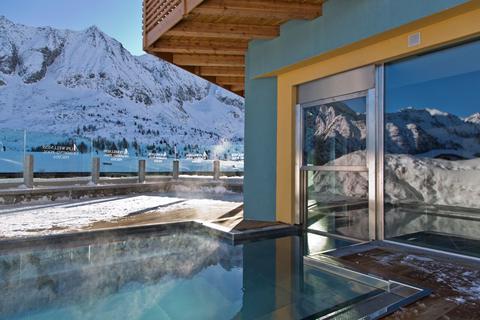 Goedkope wintersport Adamello Ski ⛷️Hotel Delle Alpi