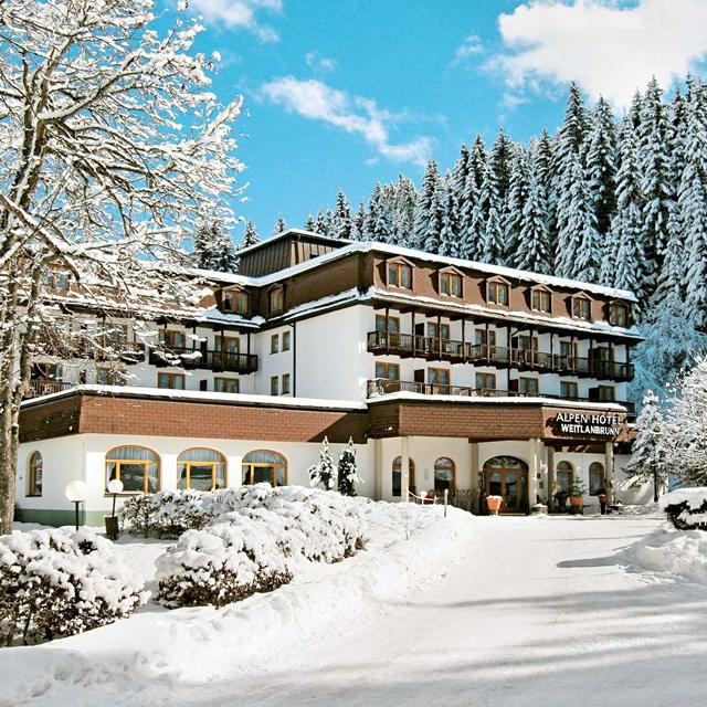 Meer info over Alpenhotel Weitlanbrunn  bij Sunweb-wintersport