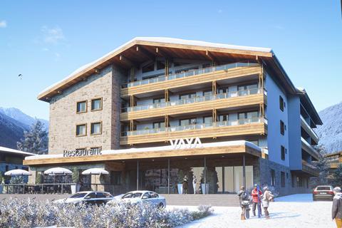 Korting skivakantie Silvretta Arena ⛷️VAYA Galtür - Hotel