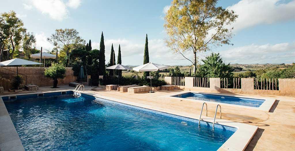 Bijzondere accommodaties Hotel Peralta in Renau (Catalonië, Spanje)
