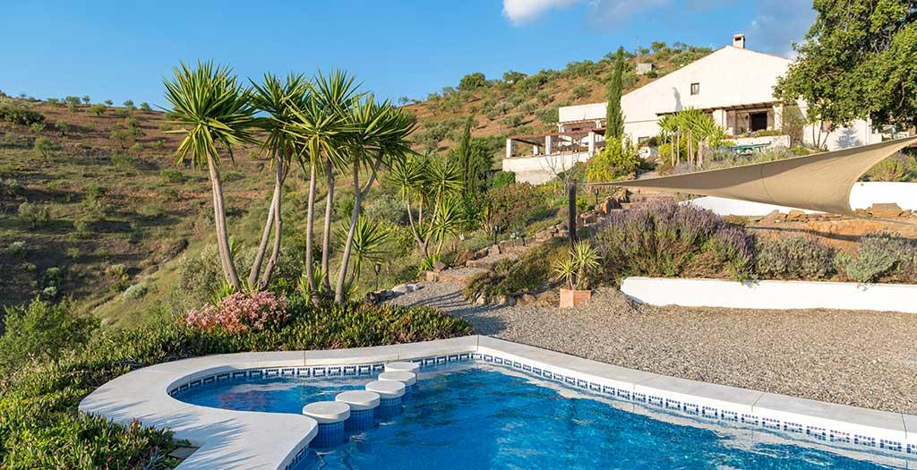 Bijzondere accommodaties Finca las Nuevas in Álora (Andalusië, Spanje)