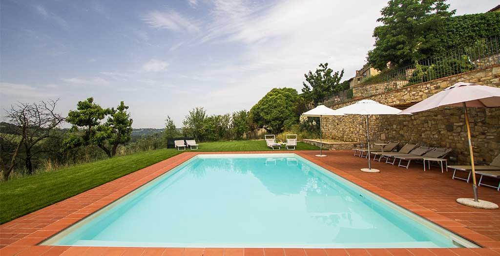 Bijzondere accommodaties Relais Villa Olmo in Impruneta (Toscane, Italië)
