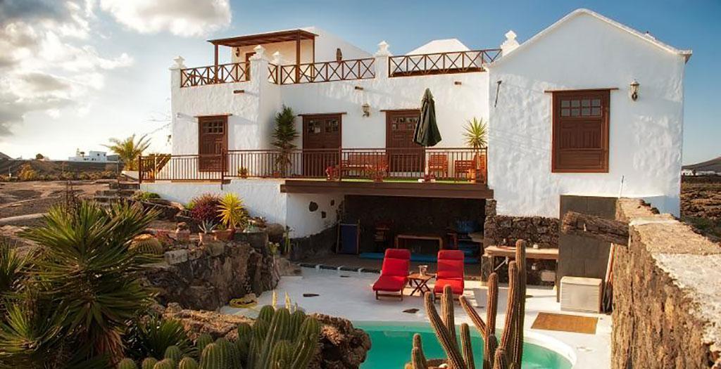 Bijzondere accommodaties Ecofinca La Buganvilla in San Bartolome (Lanzarote, Spanje)
