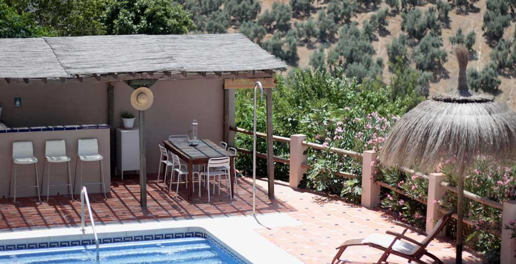 Bijzondere accommodaties Casa Pura Vida in Villanueva de Algaidas (Andalusië, Spanje)