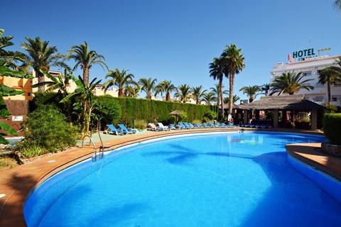 Goedkope zonvakantie Andalusië - Costa de Almería - Hotel Apartamentos Mexico - logies