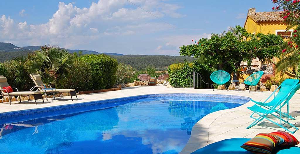 Bijzondere accommodaties Arianel la Appartementen in Torrelles de Foix (Catalonië, Spanje)