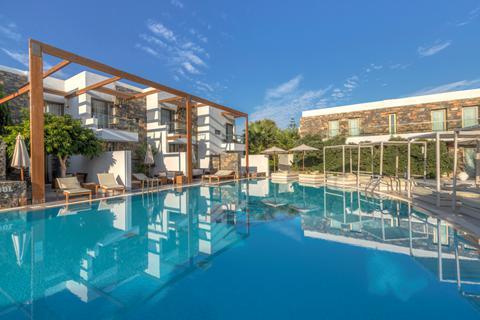 Goedkope zonvakantie Kreta - Hotel The Island