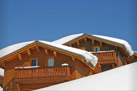 Goedkope skivakantie Paradiski ⛷️Les Chalets des Praz