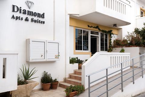 Goedkope zonvakantie Kreta - Appartementen Diamond