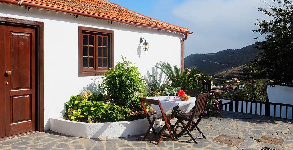 Bijzondere accommodaties Finca La Hacienda in Tierra del Trigo (Tenerife, Spanje)