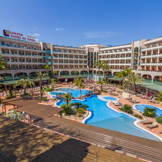 Hotel Golden Bahia de Tossa - inclusief huurauto