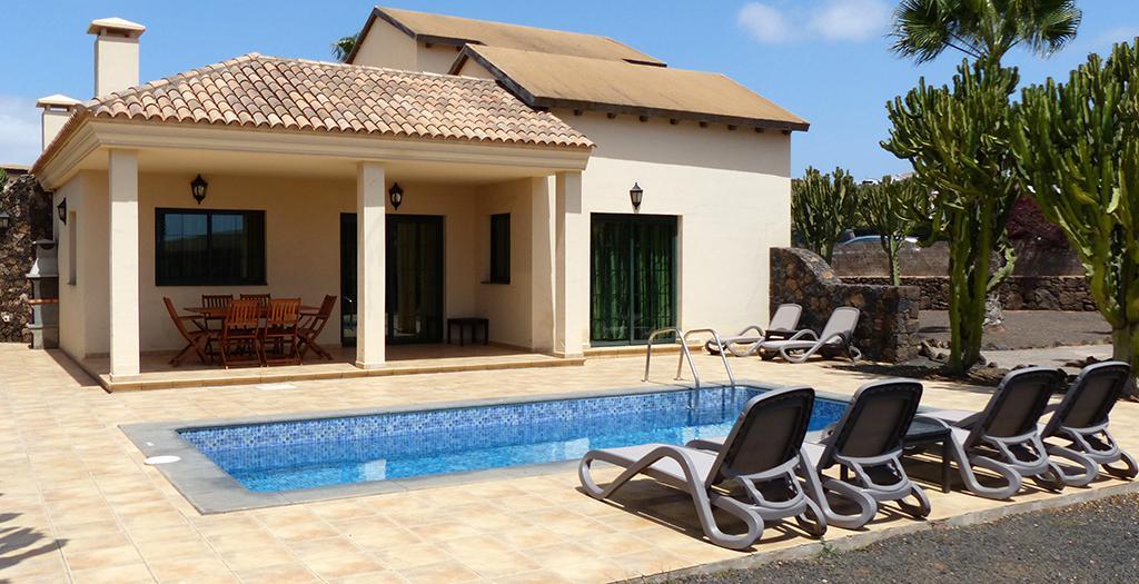 Bijzondere accommodaties Villas Casa Vieja (Winterzon) in La Oliva (Fuerteventura, Spanje)