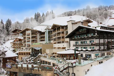 Goedkope wintersport Skicircus Saalbach-Hinterglemm-Leogang-Fieberbrunn ⛷️Hotel Stammhaus Wolf