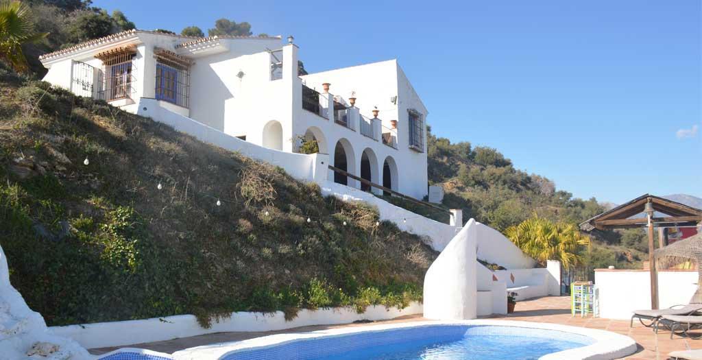 Bijzondere accommodaties Hacienda Guaro Viejo in Guaro (Andalusië, Spanje)