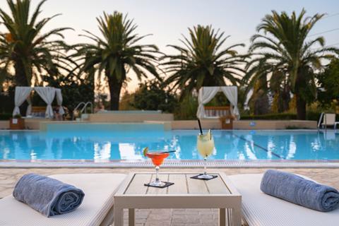 Goedkope zonvakantie Corfu - Hotel Art Debono
