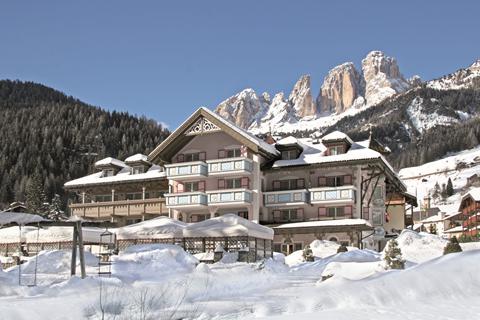 Korting wintersport Dolomiti Superski ⛷️Hotel Diamant