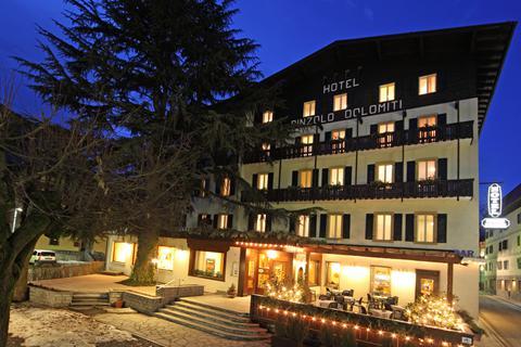 Goedkope skivakantie Val di Sole ⛷️Hotel Pinzolo Dolomiti