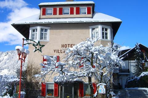 Super skivakantie Dolomiti Superski ⛷️Hotel Villa Emilia