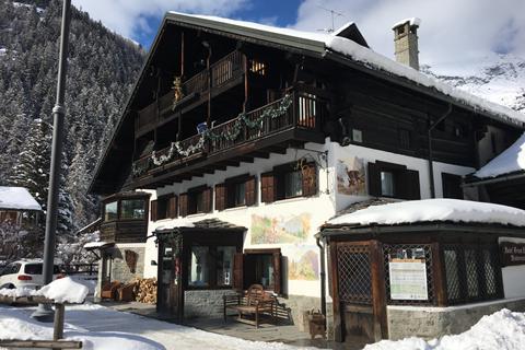 Super skivakantie Monterosa ⛷️Hotel Gran Baita