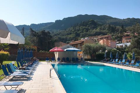 Goedkope zonvakantie Corfu - Appartementen Irene