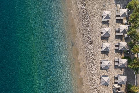 Goedkoopste zonvakantie Samos - Hotel Palm Beach