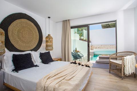 Goedkope zonvakantie Rhodos - Hotel Casa Cabana - adults only