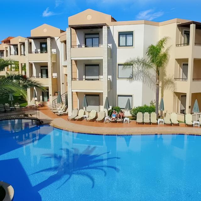 Appartementen Creta Palm (logies en ontbijt)
