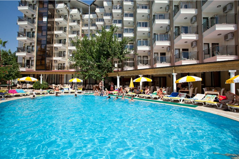 Last minute vakantie Turkse Rivièra - Hotel Monte Carlo