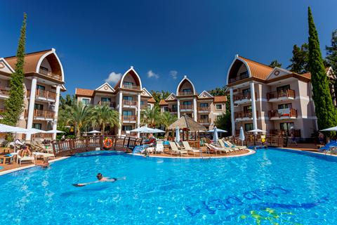 Goedkope vakantie Turkse Rivièra 🏝️Hotel Quattro Family Club Dem