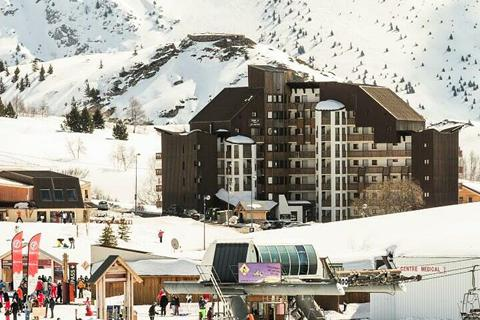 Korting skivakantie Alpe d'Huez ⛷️Résidence Maeva Home Les Mélèzes