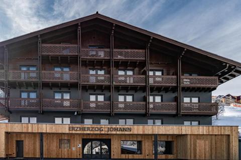 Goedkope skivakantie Ski Amadé ⛷️Hotel Erzherzog Johann