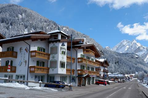 Korting wintersport Dolomiti Superski ⛷️Hotel Garni Eden