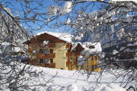 Goedkope skivakantie Val di Sole ⛷️Gaia Wellness Residence Hotel
