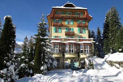 TOP DEAL skivakantie Jungfrau Region ⛷️Hotel Belvedere