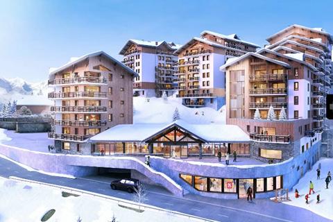 Korting skivakantie Les Deux Alpes ⛷️Residence Club MMV Les Clarines
