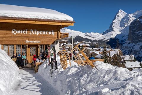 Korting wintersport Jungfrau Region ⛷️Hotel Alpenruh
