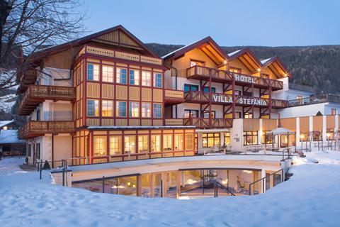 Super skivakantie Dolomiti Superski ⛷️Hotel Villa Stefania
