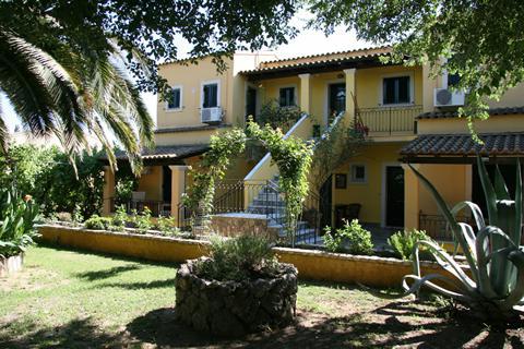Goedkope zonvakantie Corfu - Appartementen Spiti Nikos