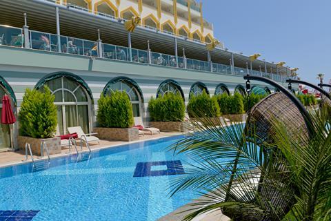 Goedkope zonvakantie Turkse Rivièra - Hotel Delphin Imperial