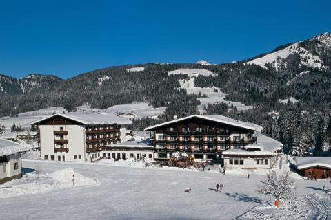 Goedkope skivakantie Skicircus Saalbach-Hinterglemm-Leogang-Fieberbrunn ⛷️Sporthotel Fontana