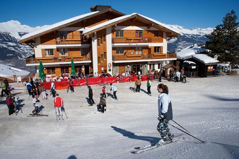 Goedkope skivakantie Les Quatre Vallées ⛷️Résidence Veysonnaz 3*