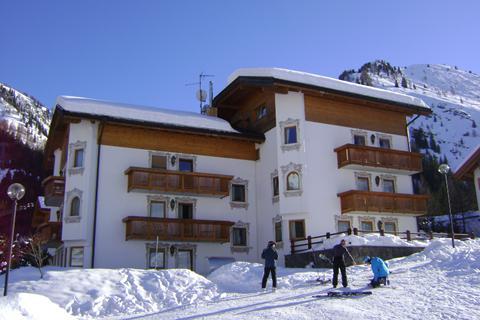 Korting skivakantie Dolomiti Superski ⛷️Appartementen Evaldo