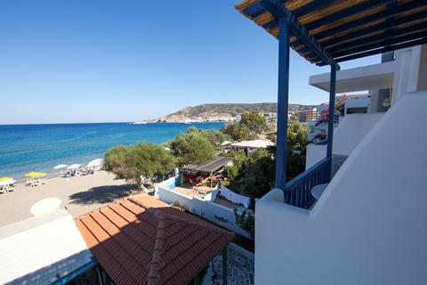Aanbieding zomervakantie Karpathos - Appartementen Baywatch