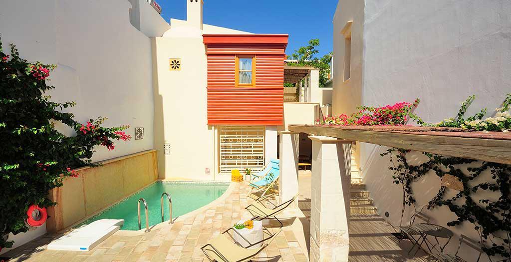 Bijzondere accommodaties Appartementen Veranda Rossa in Rethimnon (Kreta, Griekenland)