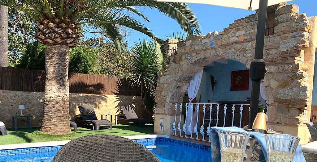 Bijzondere accommodaties Casa Mistela in Jalón (Alicante, Spanje)